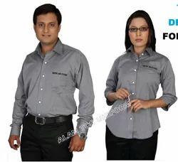 Cotton Unisex TATA Motors CV Dealers Employees Uniform, For Office