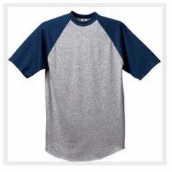 Unisex 3/4th Sleeve Cotton T Shirt, Size: XL