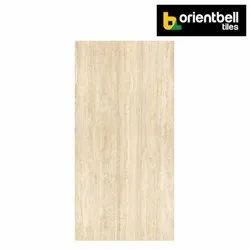 Orientbell Tiles Orientbell PGVT TRAVERTINO PEARL Marble Tiles, Size: 1200X2400 mm