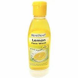 Reenee Feel Fresh Lemon Face Wash, Packaging Type: Bottle, Packaging Size: 100ml