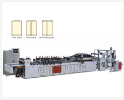 Three Side & Central Sealing Bag Making Machine