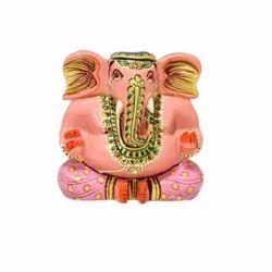 Wooden Multi Color Meenakari Ganesh Ji