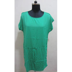 Ladies Green Top