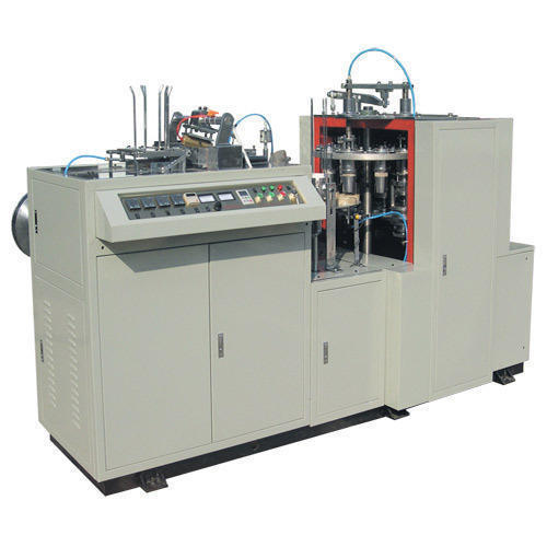 1 Semi-automatic Disposable Paper Cup Making Machine, Production Capacity: More than 500 per hour, 500-1000 Kg