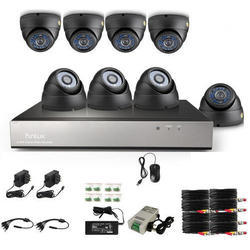 Dahua 8 Ch.DVR, 8 Dom/Bullet 2MP Camera with Complete Set