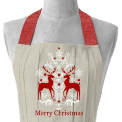 Christmas Special Printed Apron Kitchen