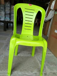 Plastic Chair Green Color