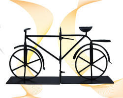 Bicycle Rod Iron Book Holder