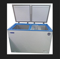 White CHF300 Blue Star Deep Freezer, Capacity: 300 L, -24 C To + 8 C