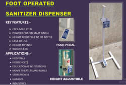 FOOT OPERATED DISPENSER MS STAND