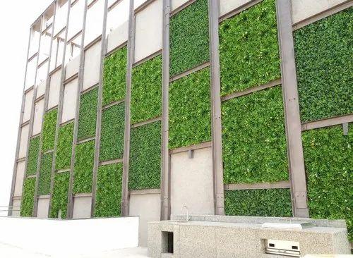 Artificial Green Wall Vertical Garden Wholesale Trader From Mumbai