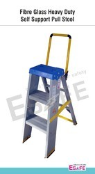 Fiberglass Heavy Duty Self Support Pull Stool