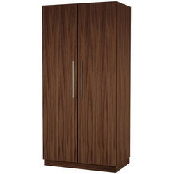Plywood IC Pro Two Door Wardrobe