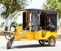 Godawari Battery Operated G- One Plus E-rickshaw, Vehicle Capacity: 4 Seater