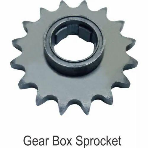 Mild Steel Gear Box Sprocket, for Bullet