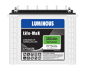 Life Max - LM 18075 Tall Tubular Battery