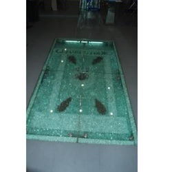 Toughened Glass Flooring Service