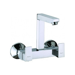 Aris Wall Mounted Sink Mixer With Regular Swinging Spout