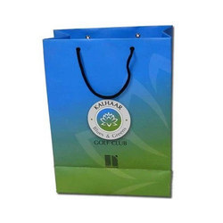 Available In Many Color Printed Kraft Shopping Paper Bag