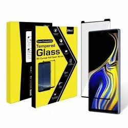 Samsung S8 Tempered Glass Black (Vmaxtel) 3D Rounded Border