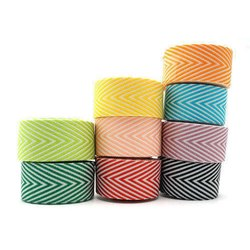 Cotton Yarn Dyed Garment Twill Tape, Packaging Type: Roll, Thickness: 2 To 4 mm