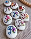 Embroidered Garment Buttons