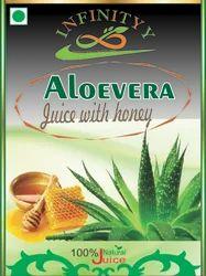 Aloevera Juice With Honey Ginger