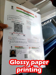 Glossy Paper Printing Services