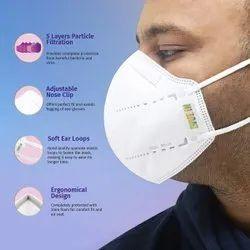 Arctic Fox Reusable Venus N95 Mask, Without Valve, Certification: Ce