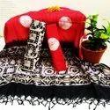 Cotton Katha With Kotta Doria Dupatta Suits