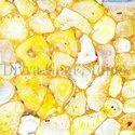 Crystal Agate Gold Slab