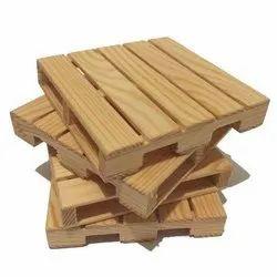 Pinewood Rectangular Heat Treated Wooden Pallet