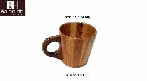 Plain Sag Wood Tea Cup, Packaging Type: LUZ, Size: 2.5*2*2