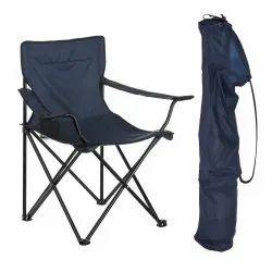 Navy Blue Polyester Camping Folding Chair Outdoor Garden Director Picnic Navy Color