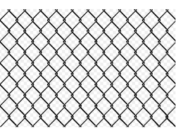 MS and Stainless Steel Wires Chain Link Fence