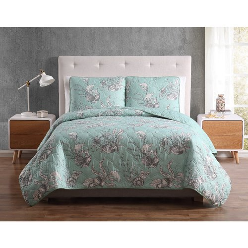 Cotton Double and King AC Quilt Set