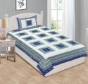 Bedsheet for Single Bed Cotton