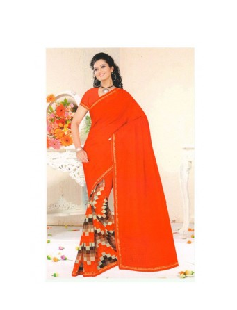 870569c6d793a Chiffon Fancy Designer Saree at Rs 735  piece