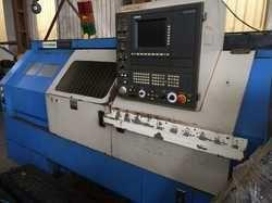 Used & Old Machine - Hyundai Hit 30s Cnc Turning Machine Available In Mumbai Warehouse