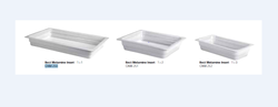 RECTANGLE White Melamine Collection
