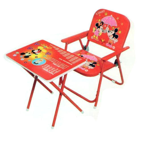 Baby Folding Table Chair Set Age Of Kid 4 To 8 Year