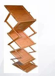 Wooden Brochure Stand