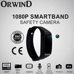Wrist Band Smart Safety Camera