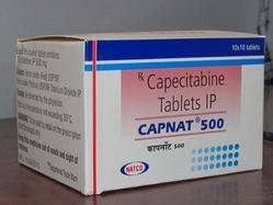 Capnat 500 Tablet (Capecitabine 500mg)