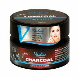 Vitaline Charcoal Face Scrub Women