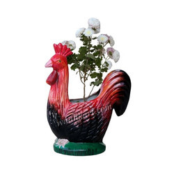 Cock Shaped Planter