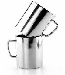 Steel Double Walled Mug