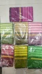 Ligalz Presents Chanderi Cotton Saree With Blouse