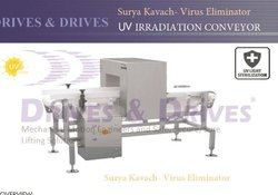 Surya Kavach UV Irradiation Conveyor