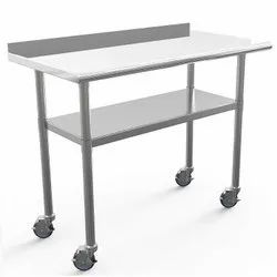Plain Aluminum Trolley